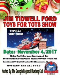 Jim Tidwell Ford Toys For Tots Show