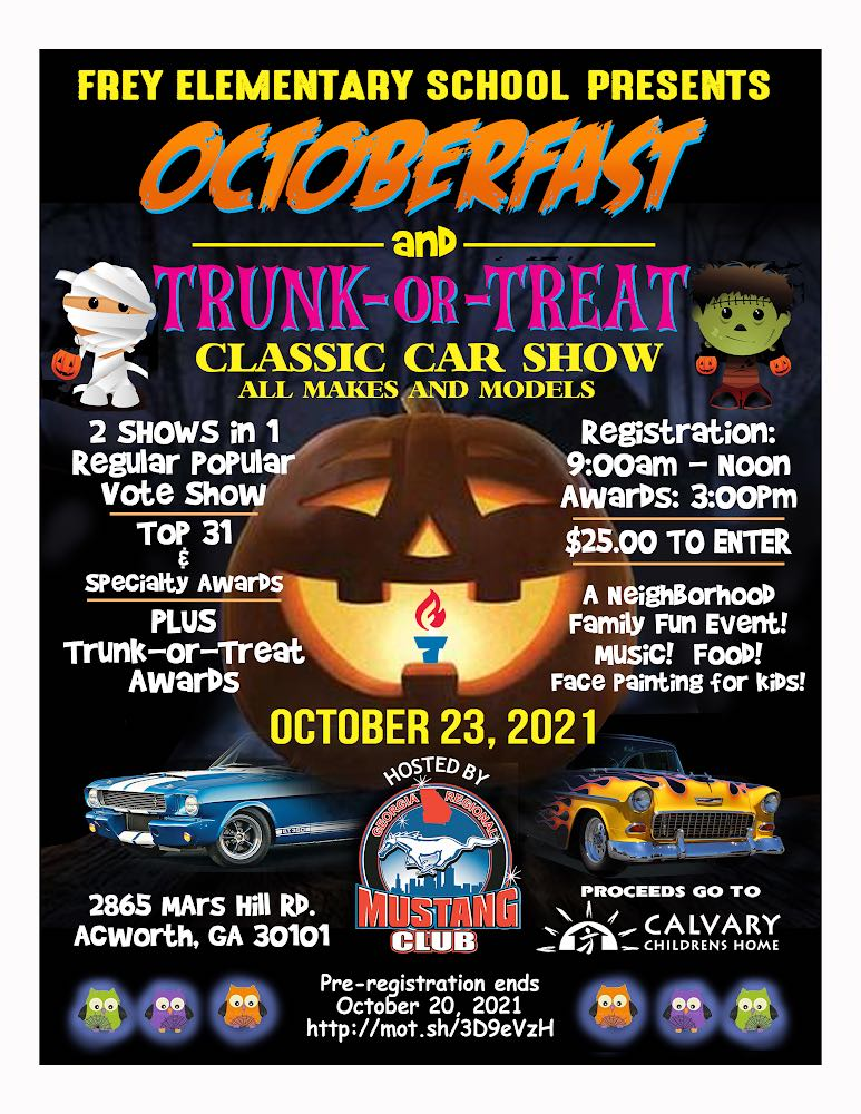 Octoberfast Car Show Poster